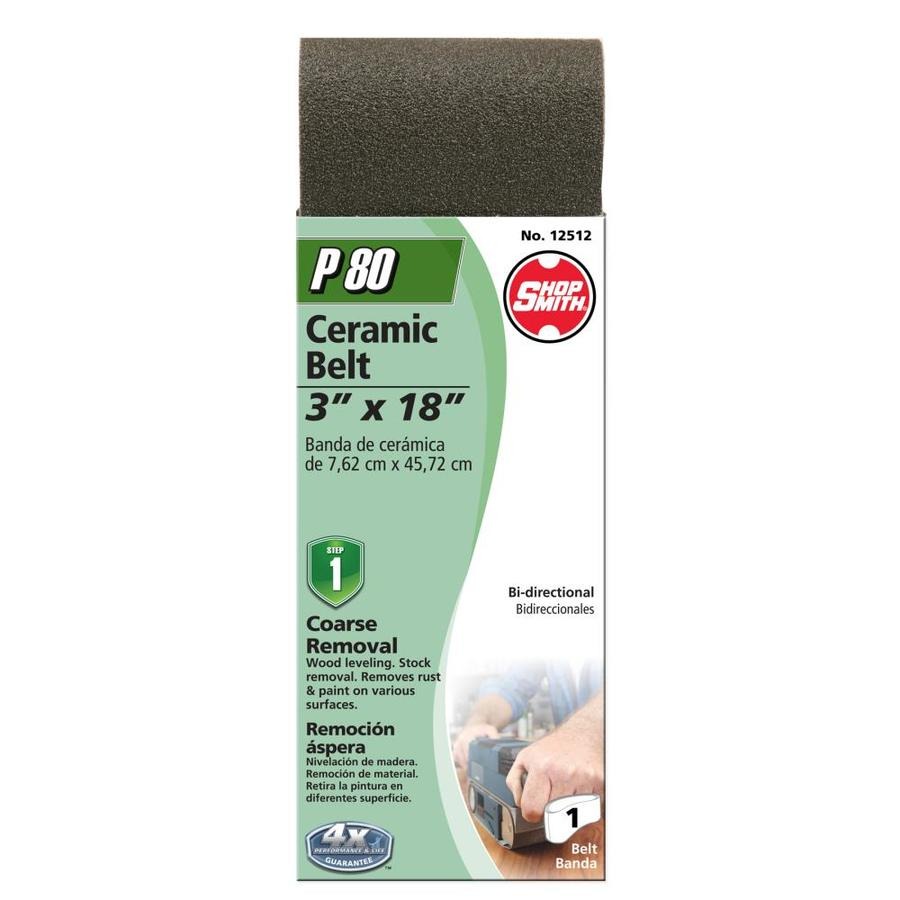 Shopsmith 3-in W x 18-in L 80-Grit Commercial Sanding Belt Sandpaper