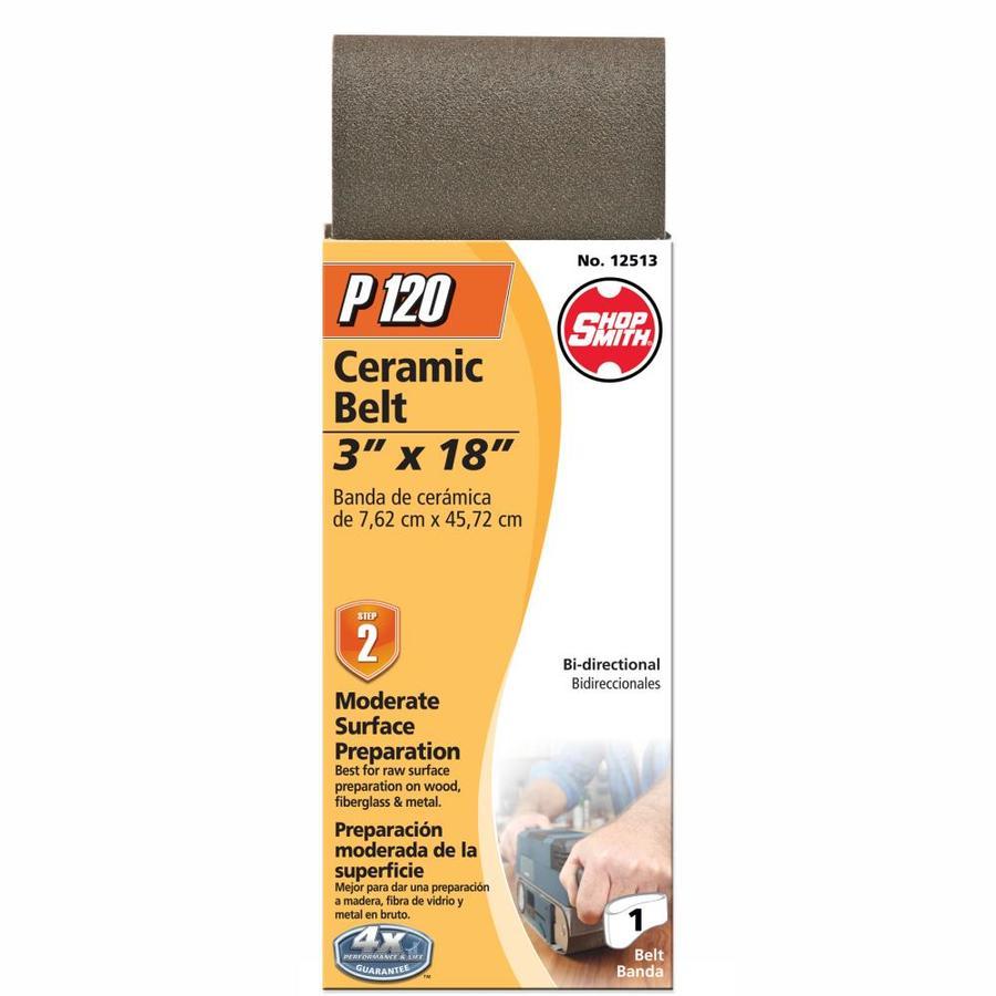 Shopsmith 3-in W x 18-in L 120-Grit Commercial Sanding Belt Sandpaper