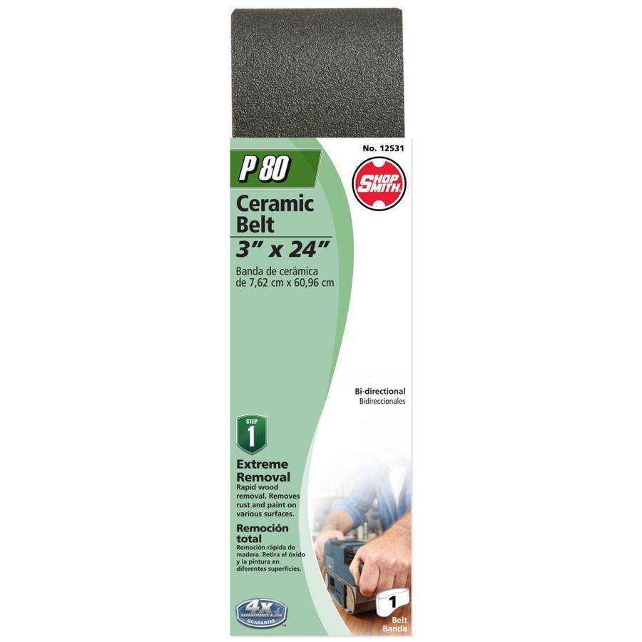 Shopsmith 3-in W x 24-in L 80-Grit Commercial Sanding Belt Sandpaper