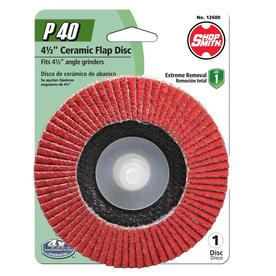 Shopsmith Ceramic 4.5-in 40-Grit Flap Disc