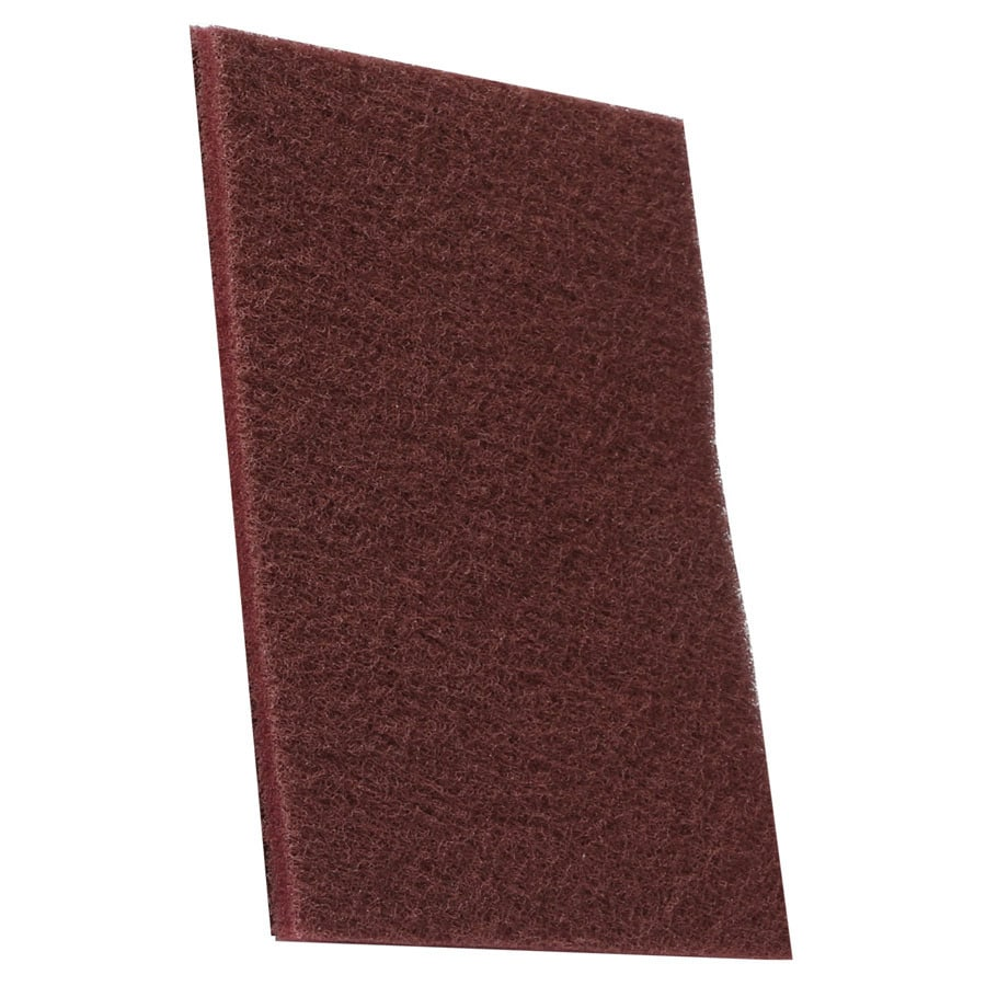 Smith 10 Count 6 In X 9 Maroon Scuff Pads