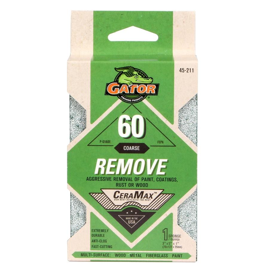 Gator 3-in x 5-in 60-Grit Commercial Sanding Sponge