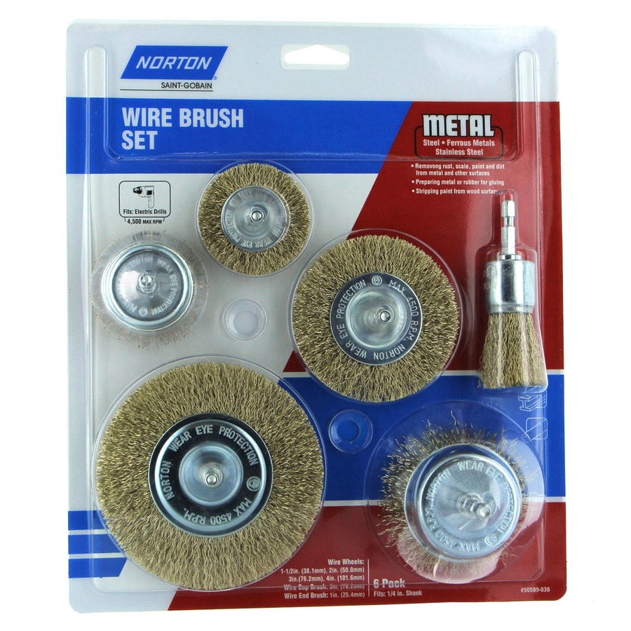 Wire Wheels & Buffers at Lowes.com on
