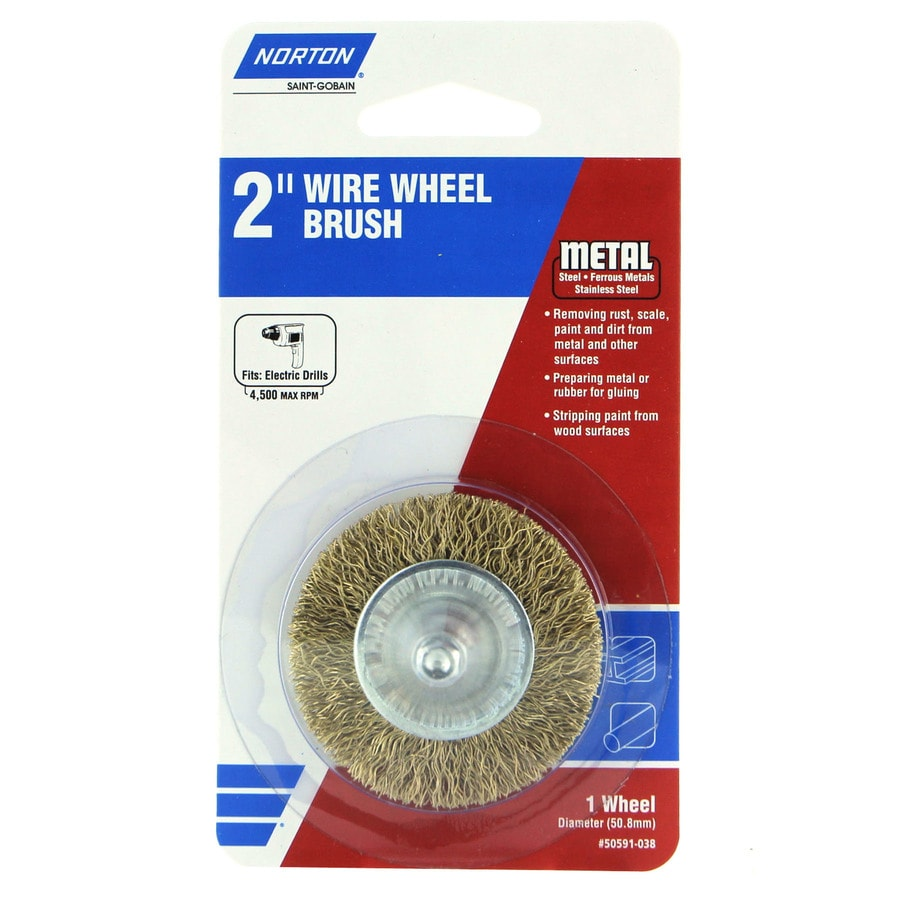 Norton 2 Coarse Wire Wheel