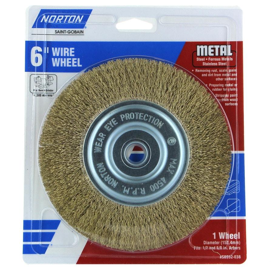 Norton 6 Coarse Wire Wheel