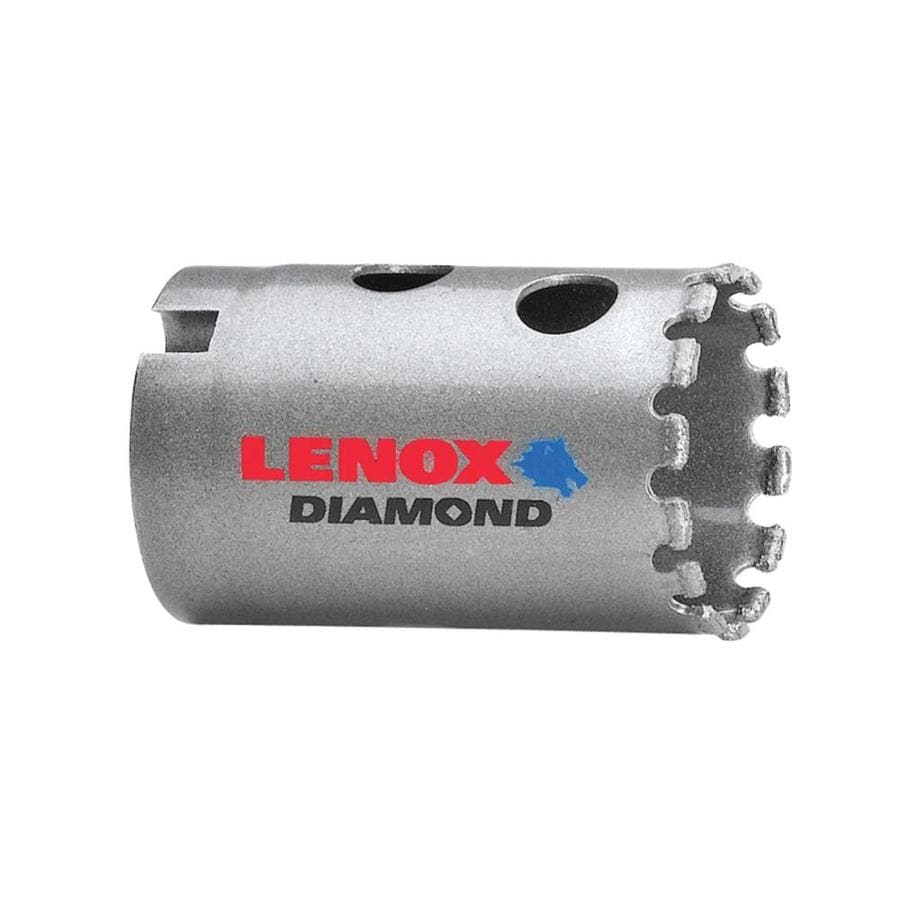 LENOX 1-1/4-in Diamond Non-Arbored Hole Saw