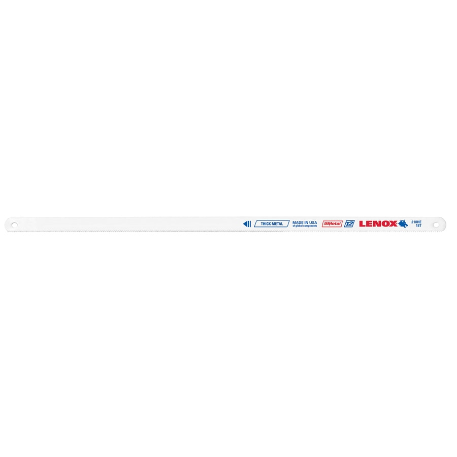 Shop lenox 2 pack 12 in bi metal hacksaw blades at lowes lenox 2 pack 12 in bi metal hacksaw blades keyboard keysfo Images
