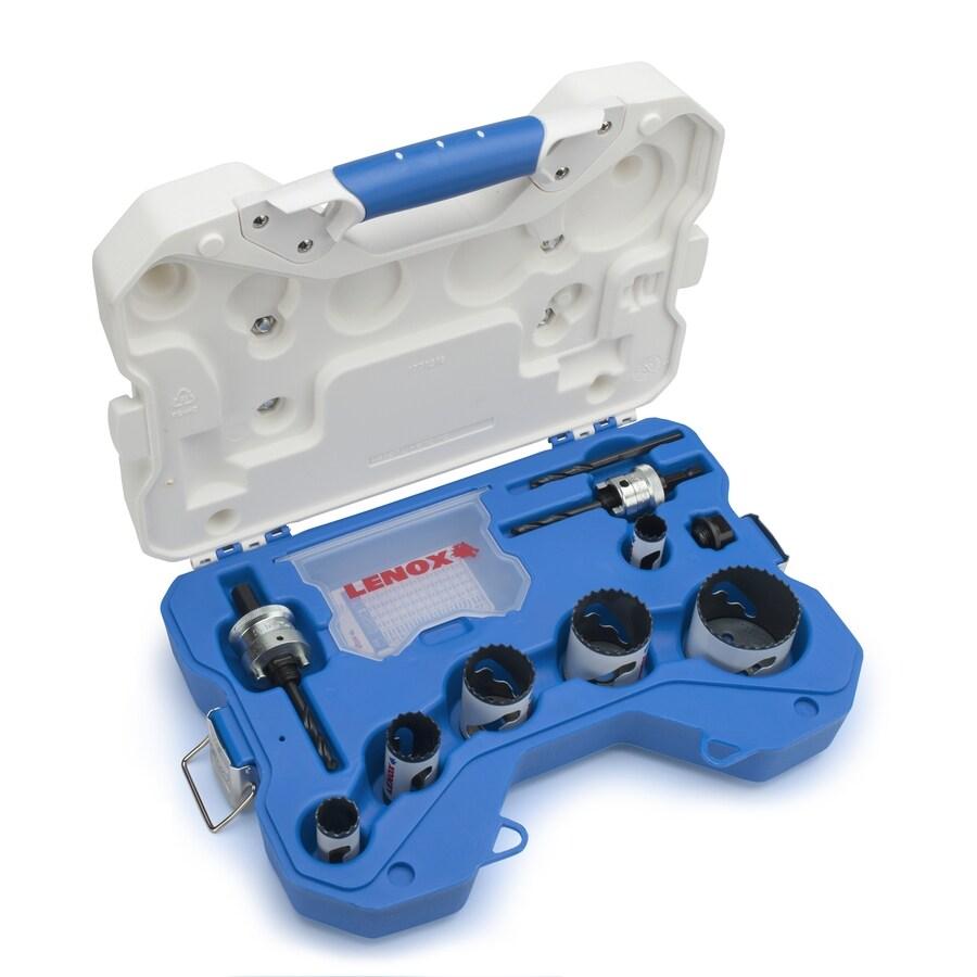 LENOX 10-Piece Bi-Metal Hole Saw Kit
