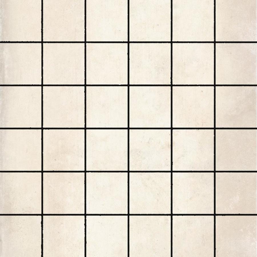 FLOORS 2000 Metropolitan Beige Uniform Squares Mosaic Porcelain Floor and Wall Tile (Common: 12-in x 12-in; Actual: 11.81-in x 11.81-in)