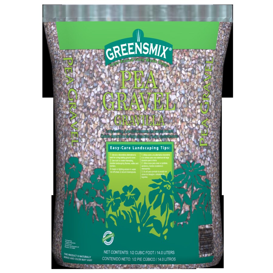 Shop 0 5 Cu Ft Pea Gravel At Lowes Com