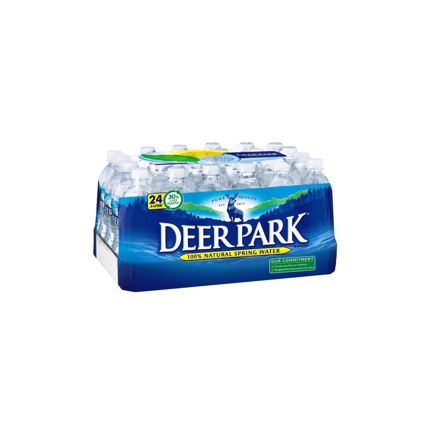 Deer Park 24-Pack 16 9-fl oz Spring Water at Lowes com