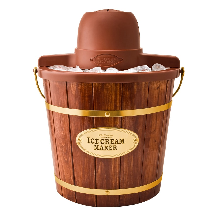 Nostalgia 4-Quart Electric Ice Cream Maker