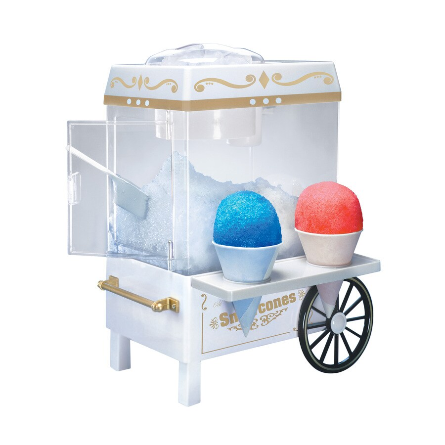 Nostalgia White Snow Cone Maker