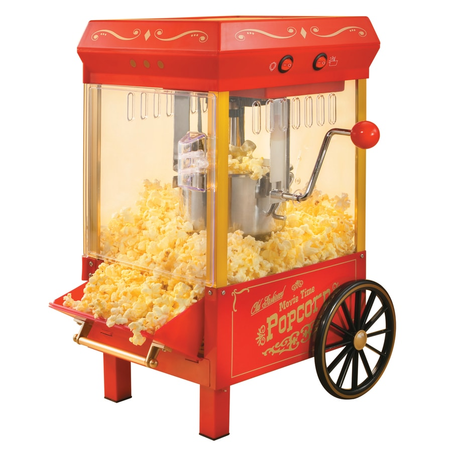Nostalgia 0.25-Cup Oil Tabletop Popcorn Maker