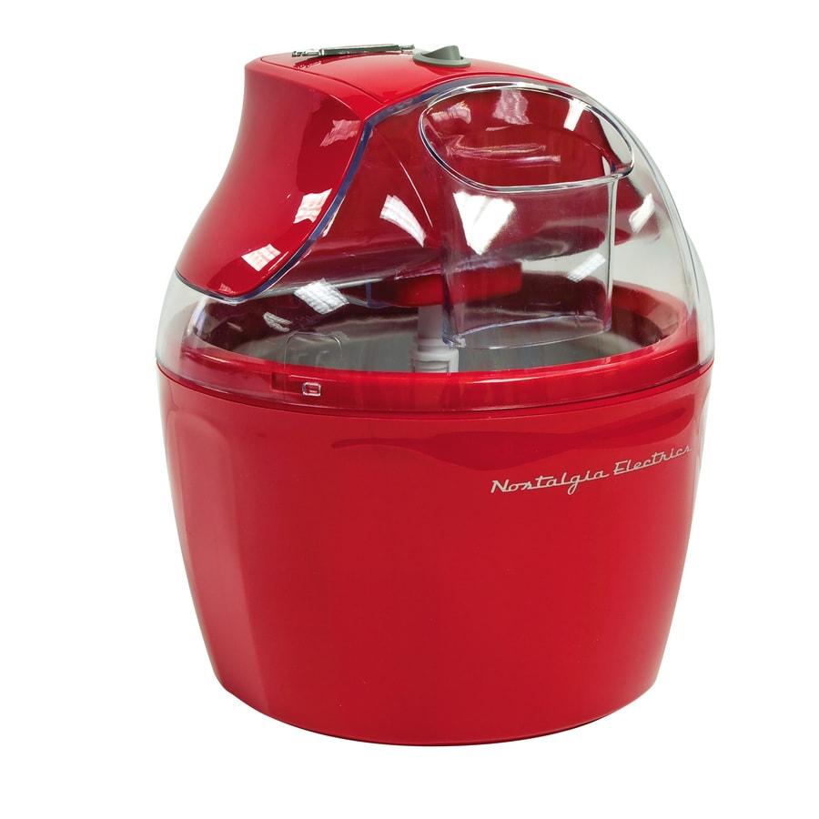 Nostalgia Retro 1.5-Quart Electric Ice Cream Maker