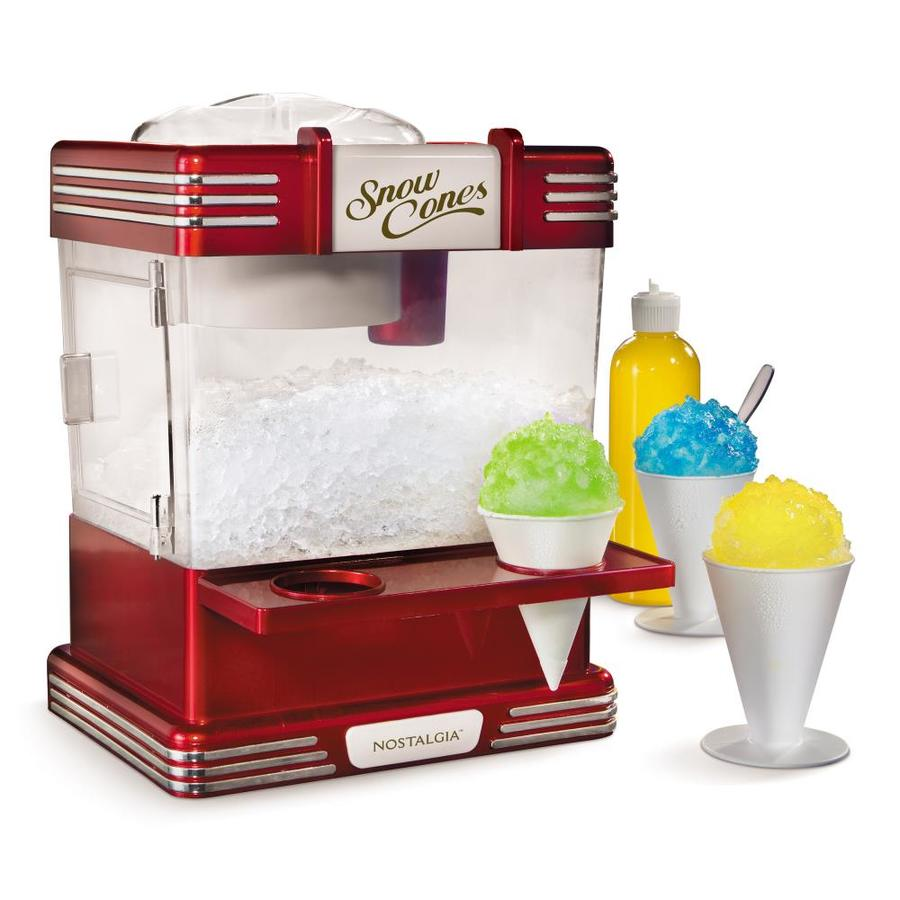 Nostalgia Red Snow Cone Maker