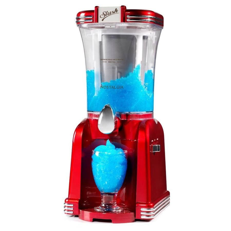 Nostalgia Retro 32 Oz. Red Slush Drink Machine