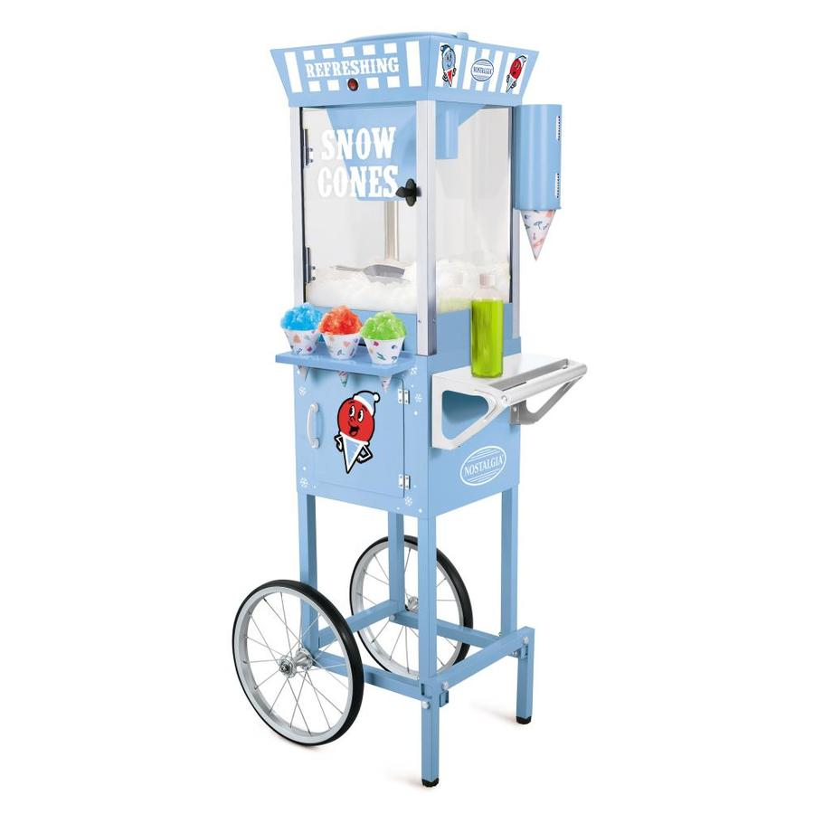 Nostalgia Vintage Collection Blue Snow Cone Cart