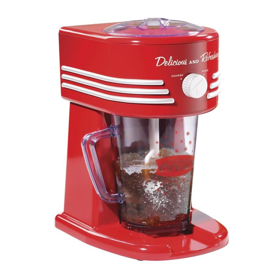 Nostalgia Red Slush Drink Machine