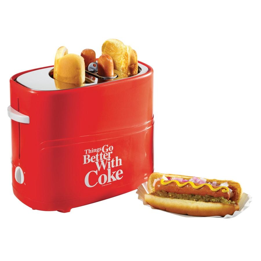 Nostalgia Coca-Cola Series Pop-Up Hot Dog Toaster