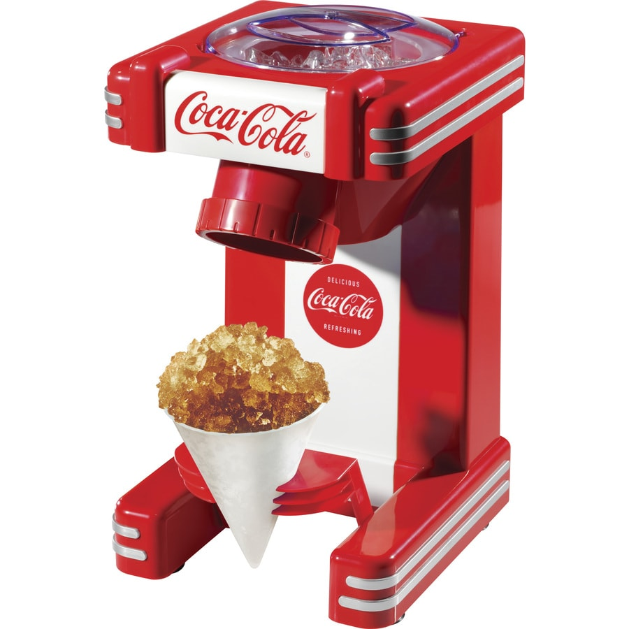 Nostalgia Coca-Cola Red Snow Cone Maker