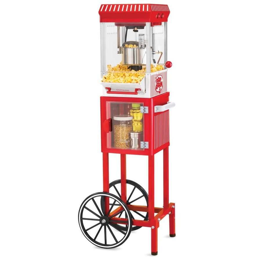 Nostalgia Electrics 0.25-Cup Oil Popcorn Maker Cart
