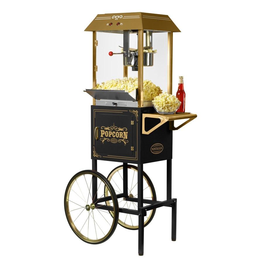 Nostalgia 1.25-Cup Oil Popcorn Maker Cart