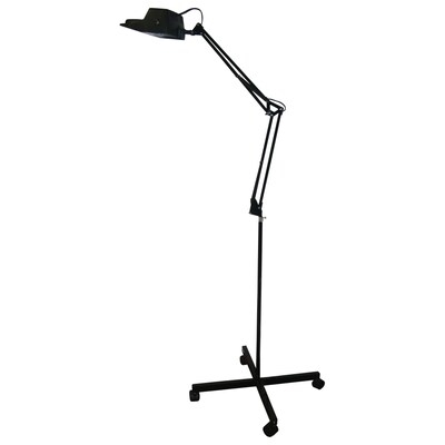 Portfolio 60 In Contemporary Indoor Floor Lamp With Shade At Lowes Com