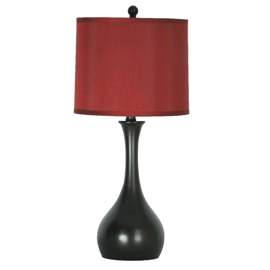 allen + roth 24-in Indoor Table Lamp with Shade