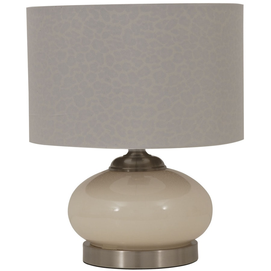 Jimco 15.75-in Cream Indoor Table Lamp with Fabric Shade