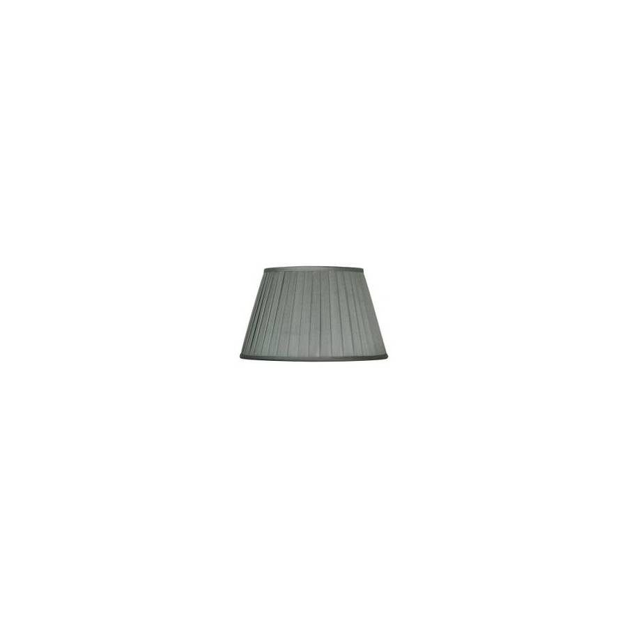 Portfolio 11-in x 15-in Gray Drum Lamp Shade
