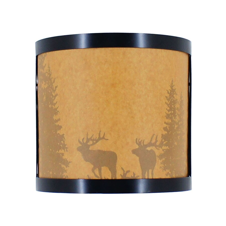 Portfolio 8.5-in W 1-Light Aged Bronze Pocket Hardwired Wall Sconce
