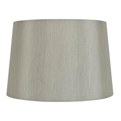 9 In X 13 Gray Fabric Drum Lamp Shade