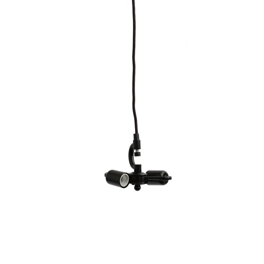 Allen Roth Bronze Metal Swag Light Kit With Cord At