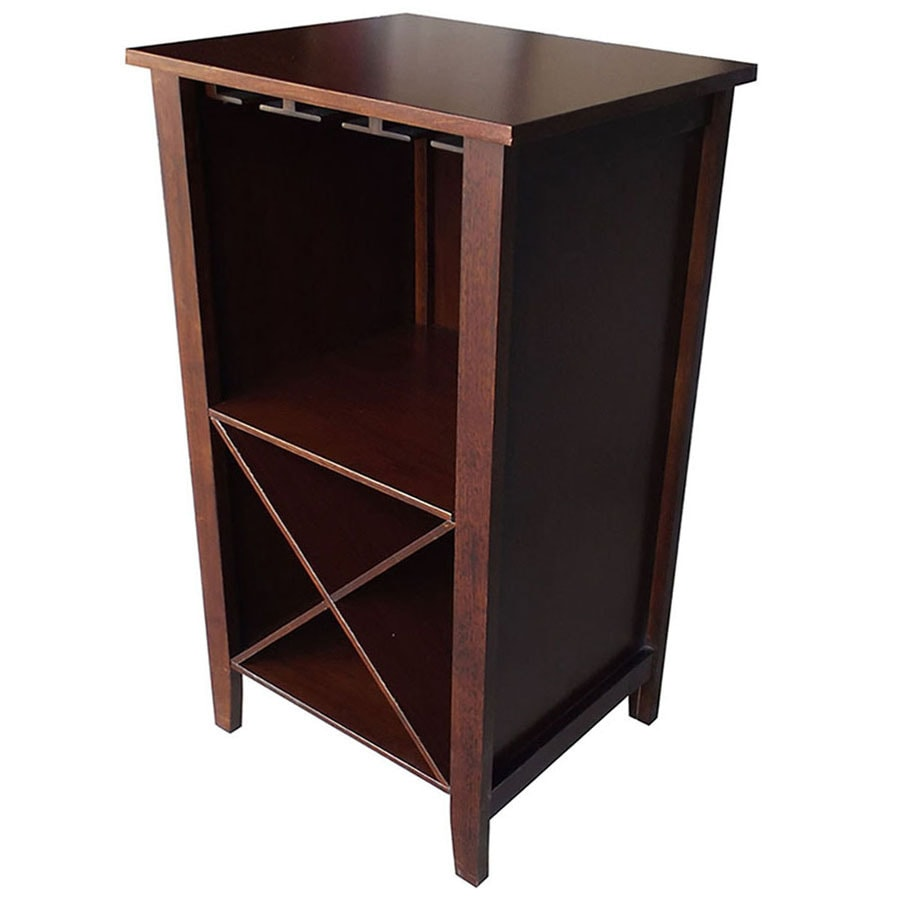 Shop Wine Rack End Table at Lowes.com