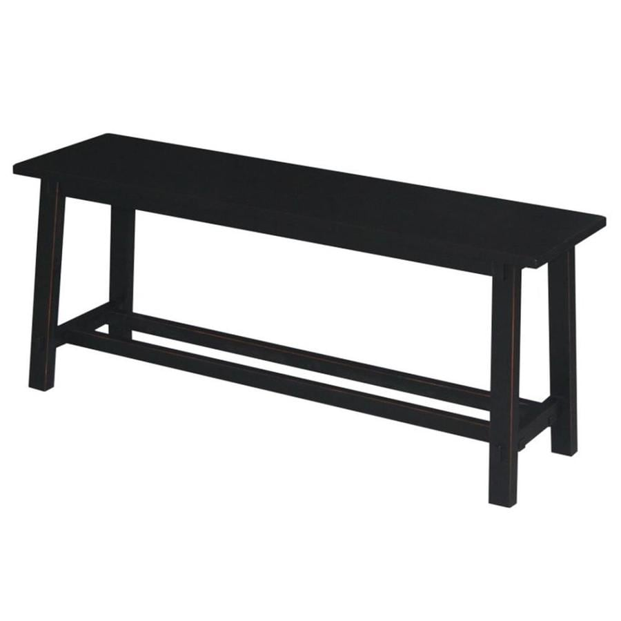 Ebony Accent Bench