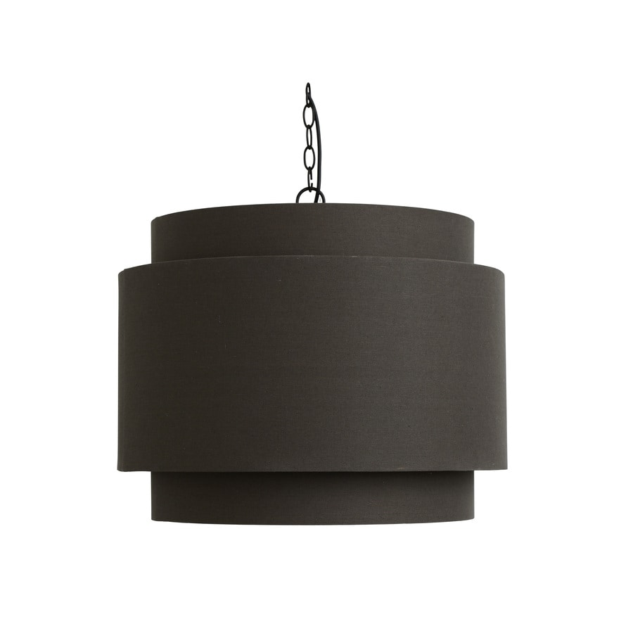 Decor Therapy 24-in Hardwired Single Cylinder Pendant