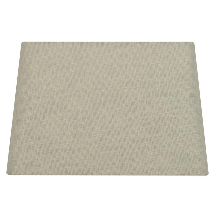 Allen Roth 10 In X 15 Cream Fabric Rectangle Lamp Shade