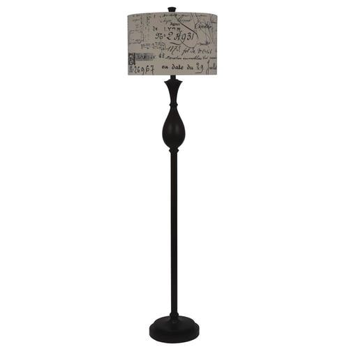 Decor Therapy Selene 60-in Wood Look Floor Lamp At Lowes.com