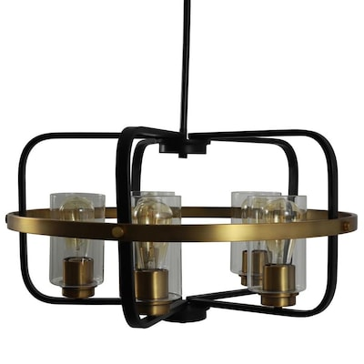 Decor Therapy Henderson Brushed Nickel And Black Modern