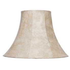 Allen Roth 12 In X 15 In White Linen Fabric Square Lamp Shade In The Lamp Shades Department At Lowes Com
