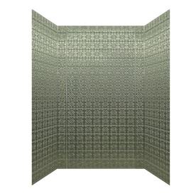 Superior MirroFlex Savannah Fiberglass And Plastic Composite Bathtub Wall Surround  (Common: 40 In X