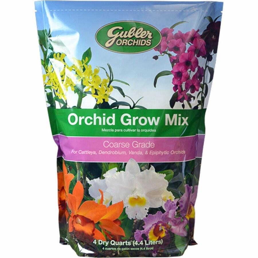 Gubler 4-Quart Organic Orchid Mix Soil