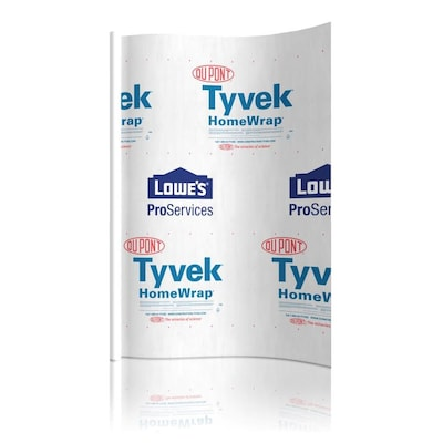 Tyvek 9-ft x 150-ft House Wrap at Lowes com