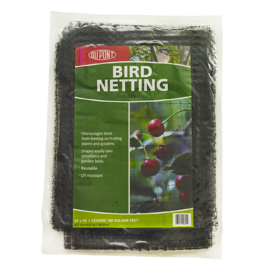 Shop DuPont 14 x 14 Bird Netting Flatpack at Lowescom