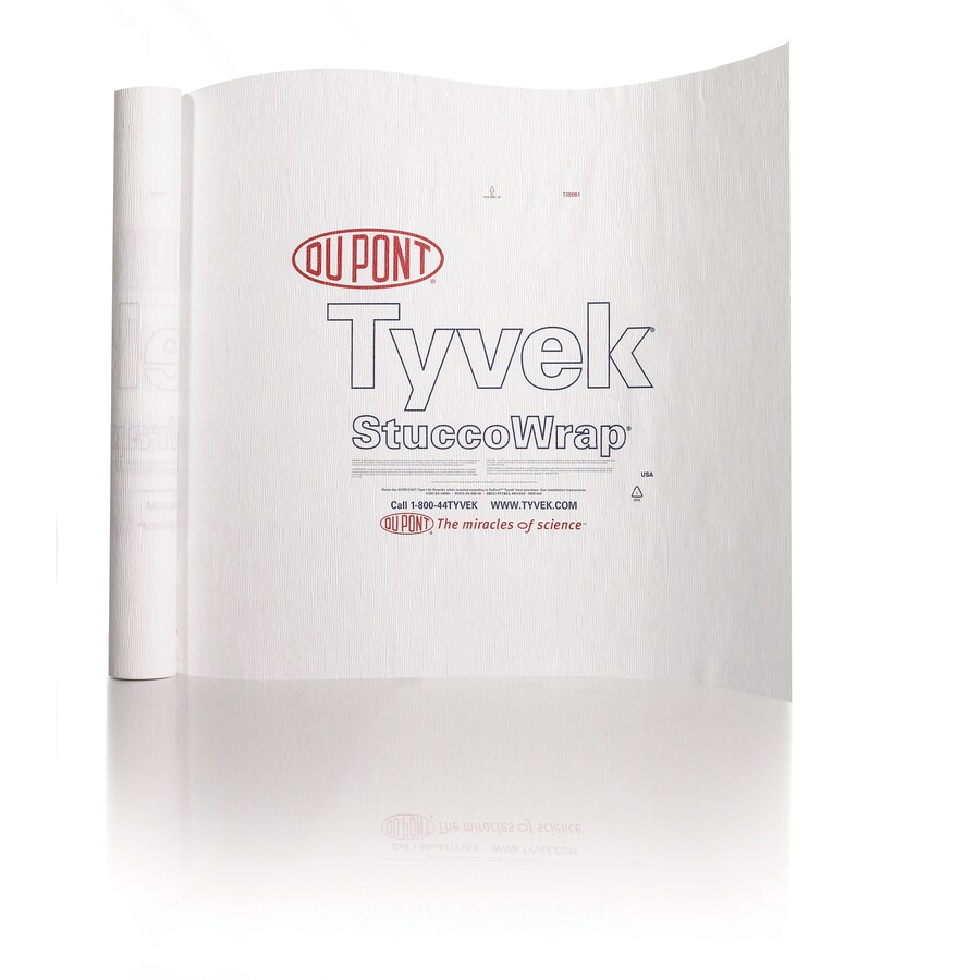 DuPont Tyvek 3-ft x 100-ft House Wrap