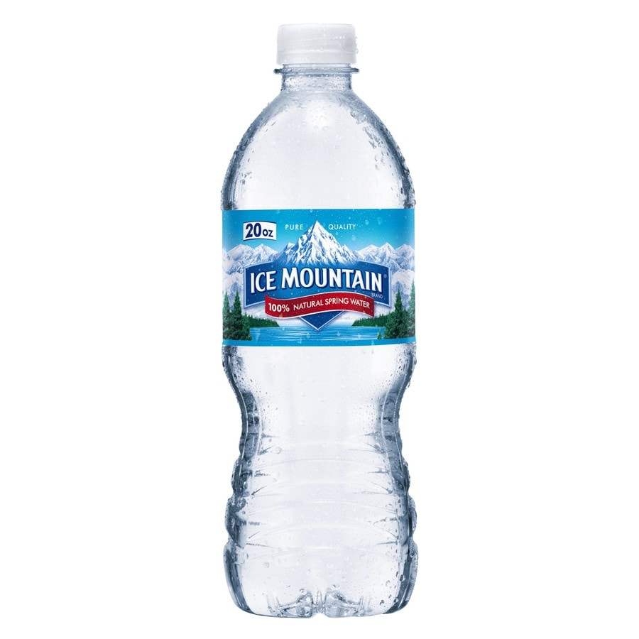 Ice Mountain 20 Fl Oz Spring Bottled Water At Lowes Com