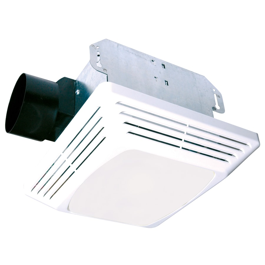Air King 3-Sone 50-CFM White Bathroom Fan with Light