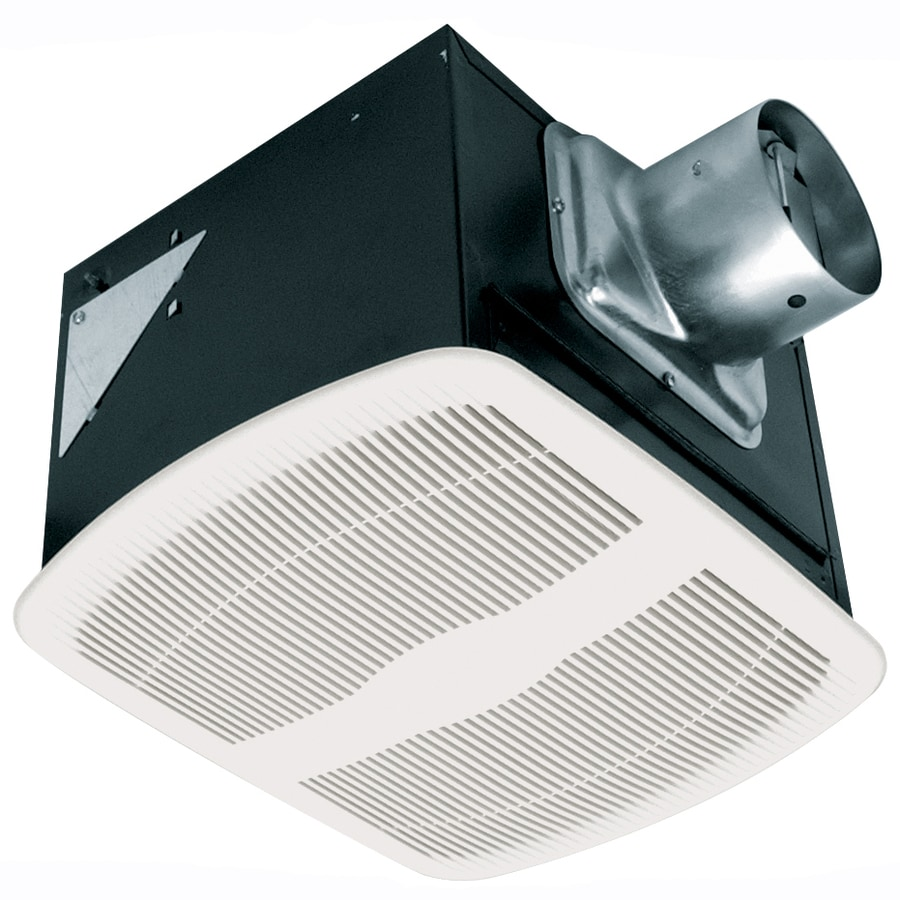 Air King 0.6-Sone 80-CFM White Bathroom Fan ENERGY STAR