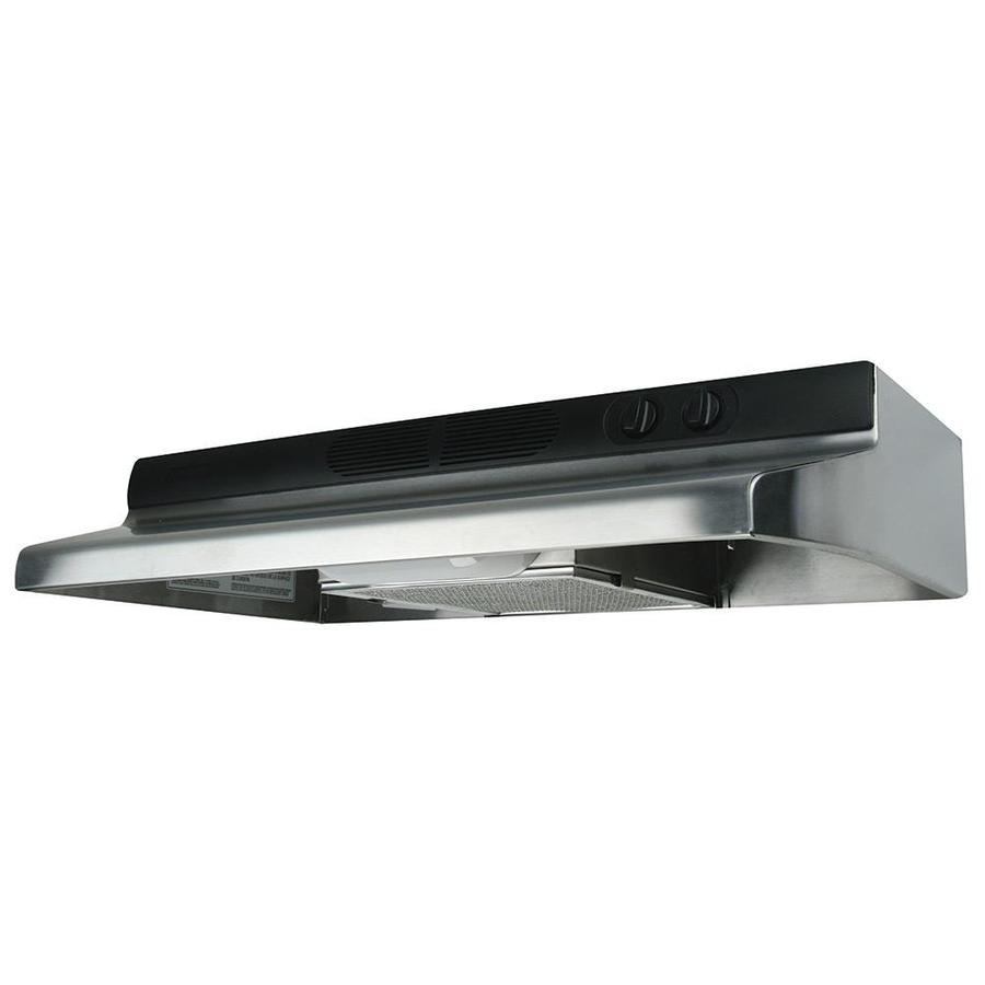 Air King Undercabinet Range Hood (Stainless Steel) (Common: 36-in; Actual: 36-in)